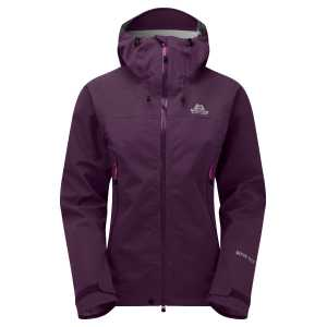 Mountain Equipment Womens Rupal Waterproof Jacket - Blackberry