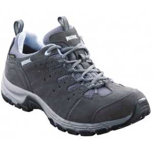 Meindl Rapide GTX Womens Wide Fit Walking Shoes - Grey