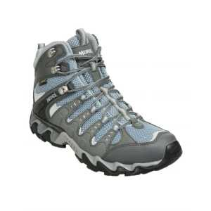 Meindl Womens Respond Mid GTX Walking Boots - Graphite/Sky -UK 4