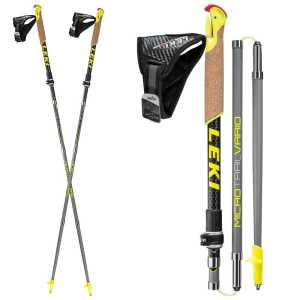 Leki Micro Trail Vario Nordic Walking Poles - One Pair