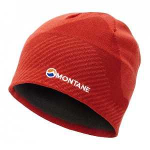 Montane Logo Beanie Hat - Firefly Orange - One Size