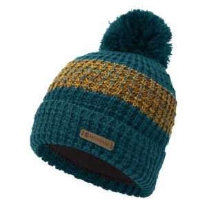 Montane Top Out Bobble Beanie Hat - Narwhal Blue