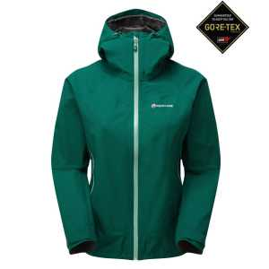 Montane Womens Pac Plus GTX Waterproof Jacket - Wakame Green