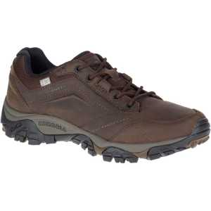Merrell Moab Adventure Lace Waterproof Walking Shoes - Dark Earth