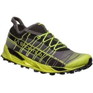 La Sportiva Mutant Mountain Running Shoe - Apple Green / Carbon