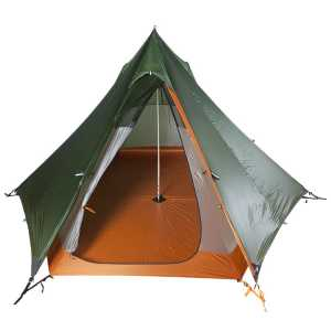 Nigor WickiUp 3 Tent Set with Full Size Room - Willow Bough/Burnt Orange