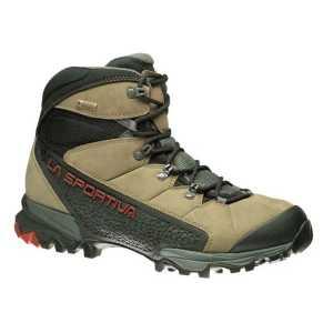 La Sportiva Nucleo GTX Mid Walking Boots - Taupe/Brick