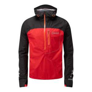 OMM Aether Waterproof eVent Smock - Black/Red
