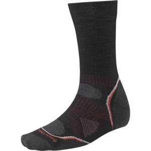 Smartwool PhD Outdoor Light Crew Socks - Black/Red