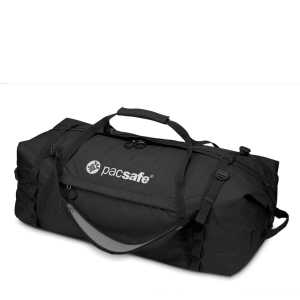 Pacsafe Duffelsafe AT100 Anti-Theft Adventure Duffel - Black (Defective)