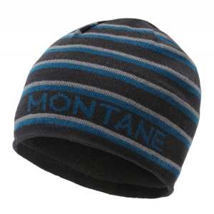Montane Signature Beanie Hat - Stripe Black (OS)