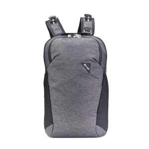 Pacsafe Vibe 20L Anti-Theft Backpack - Granite Melange Grey