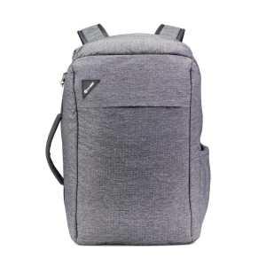 Pacsafe Vibe 28L Anti-Theft Commuter Backpack - Granite Melange Grey