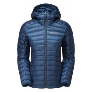 Montane Womens Featherlite Down Jacket - Narwhal Blue