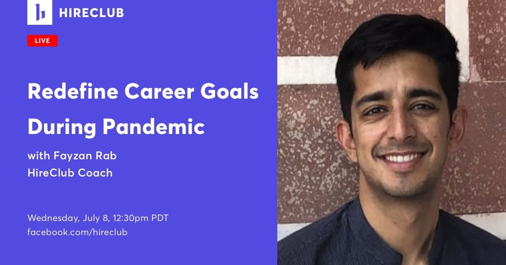 Redefining Career Goals During a Pandemic