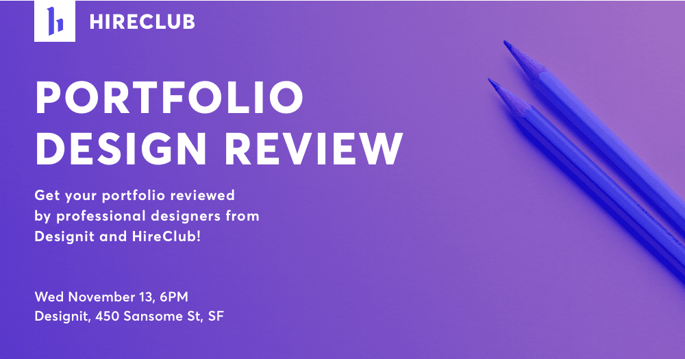 Portfolio Design Review with Designit