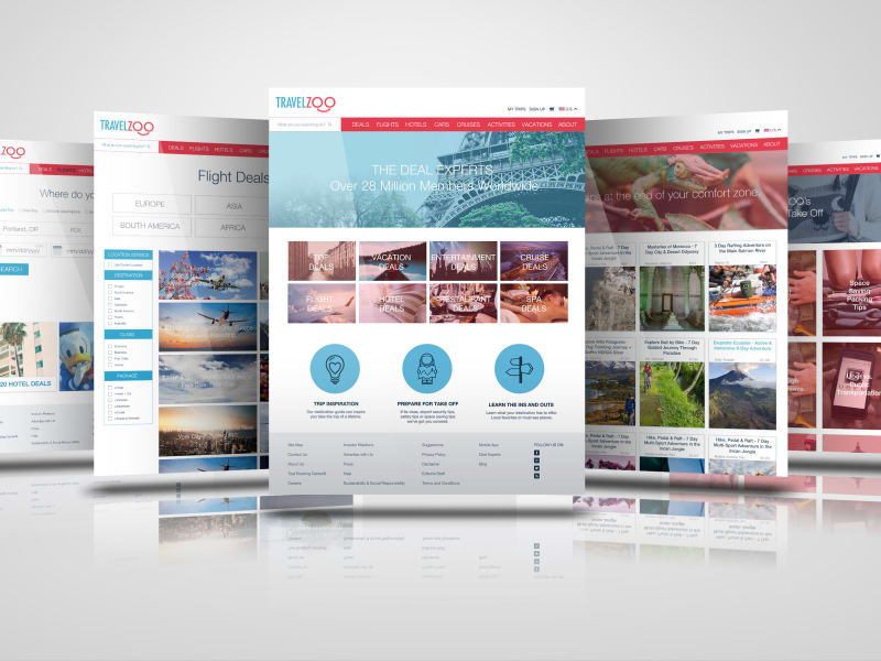 TravelZoo Redesign