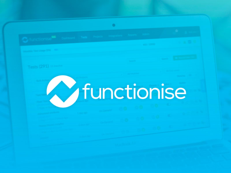 Functionise UI / UX Application Design