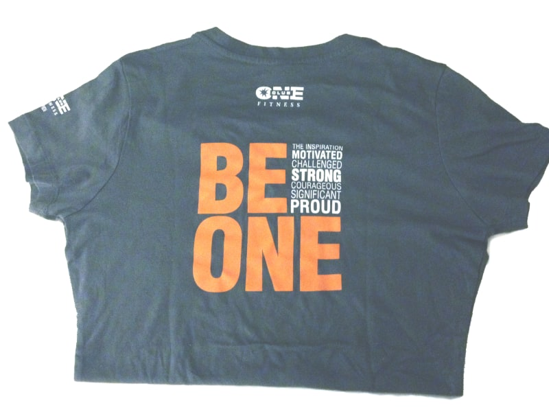 """Be One"" T-Shirt Prize"