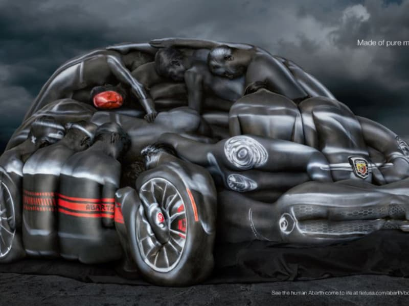 Fiat Bodypaint Advert