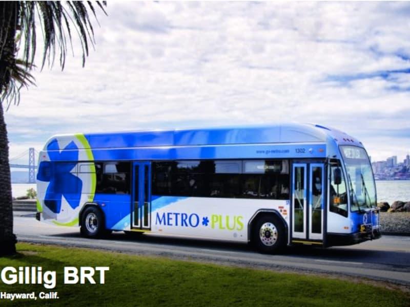 Gillig Hybrid Bus