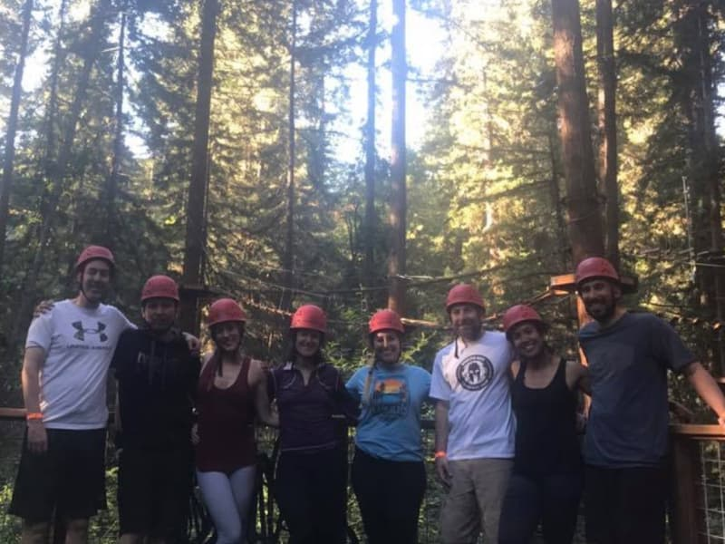 High Ropes Course in the Redwoods w/ Adventures in Common