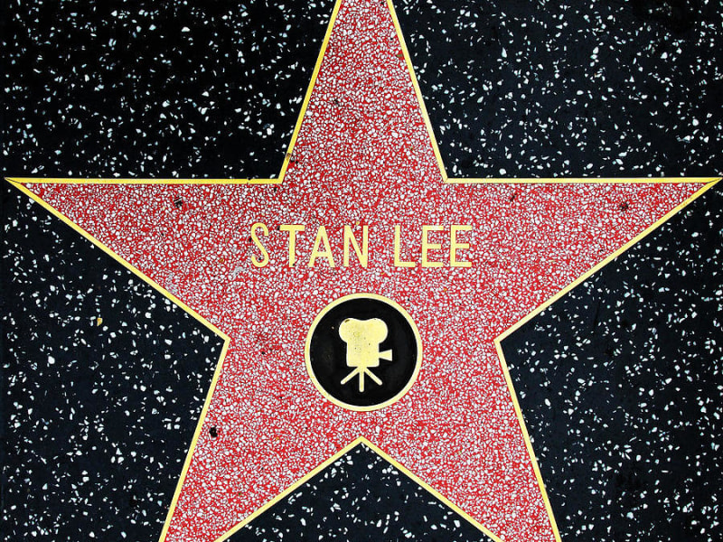 Stan Lee Honored With Star on Hollywood Walk of Fame