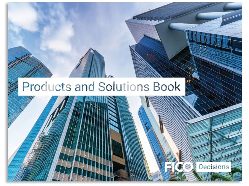 FICO Products and Solutions Book
