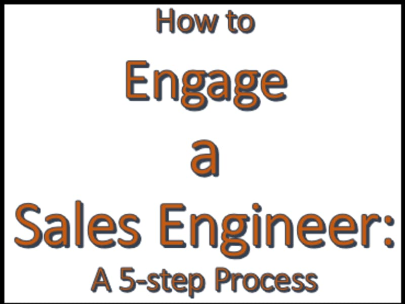 Engage a Sales Engineer