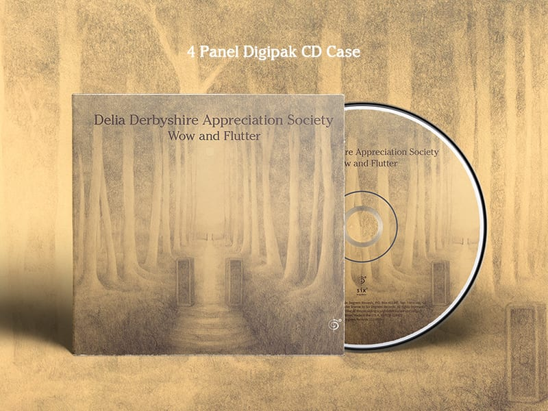 4 panel Digipak CD Case