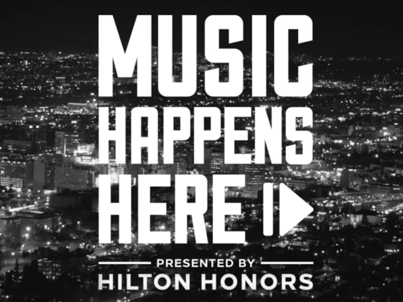 Music Happens Here