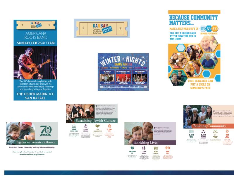 JCC Center marketing, design and PR