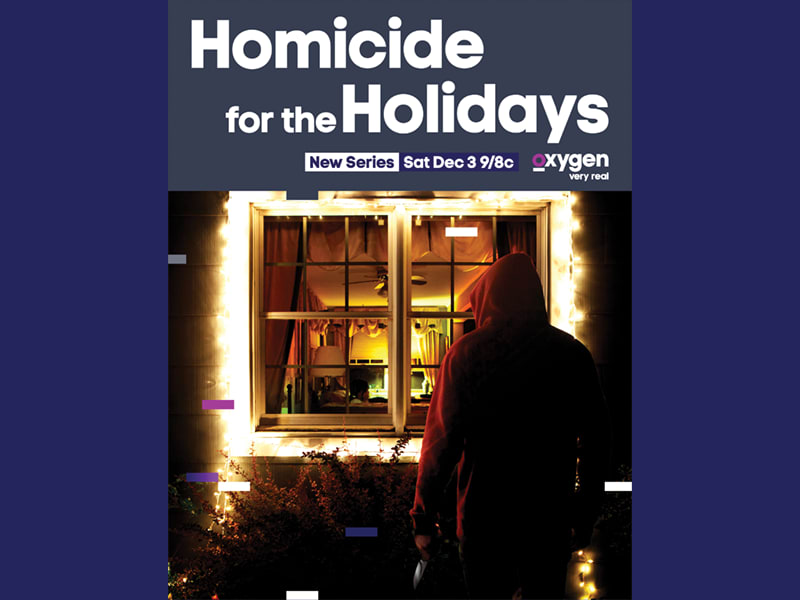Homicide for the Holidays Key Art