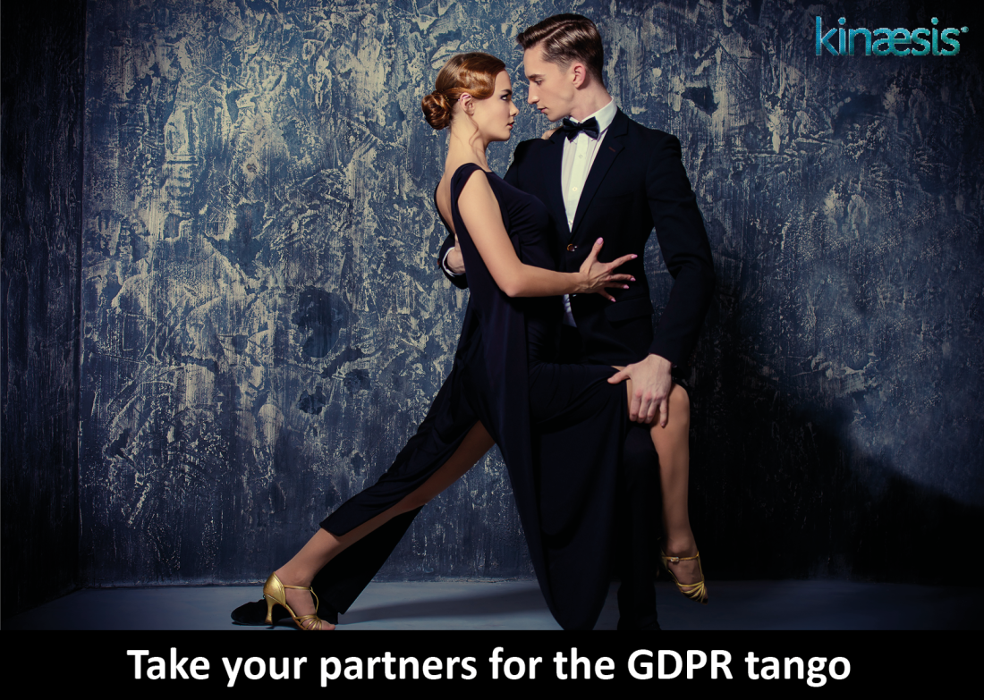 Take your partners for the GDPR tango.