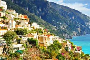 Positano,Sorrento and Amalfi Coast