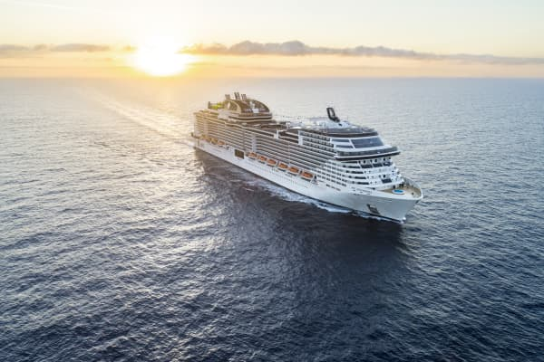 MSC Western Mediterranean Cruise & Stay Sorrento