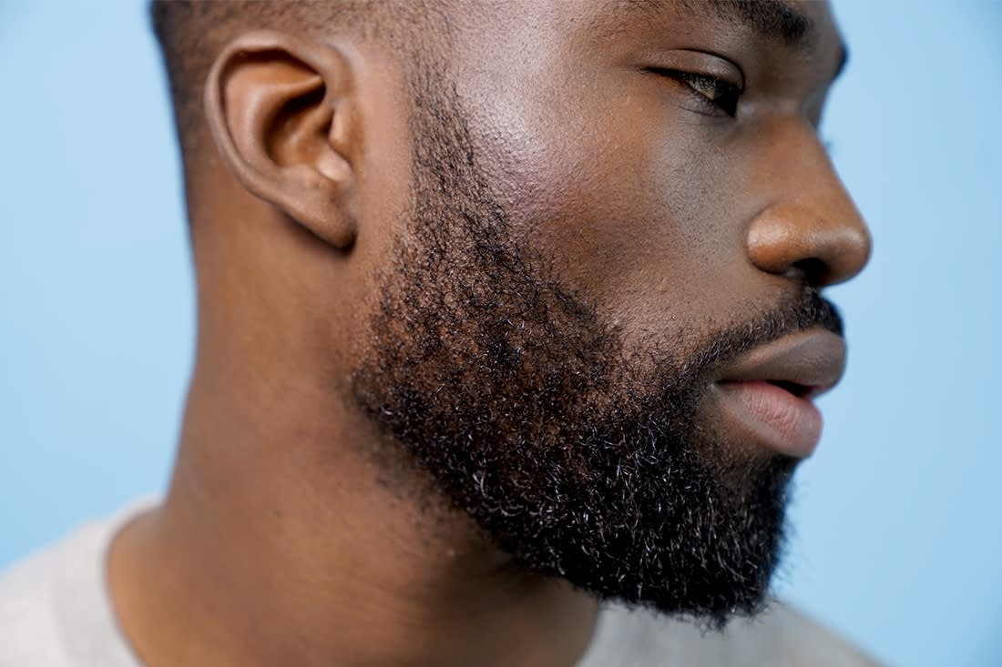 barbe collier homme