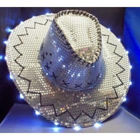 Light-up Western Hat