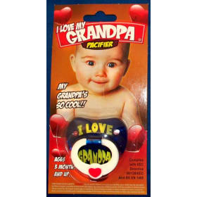 Pacifier - I love Grandpa