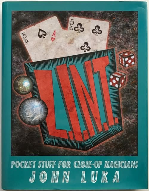 Book- L.I.N.T. Pocket Stuff For Close-Up