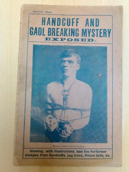 Handcuff Goal Breaking Mystery