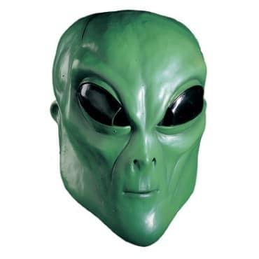Mask-Alien green