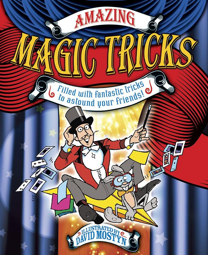 Book-Amazing Magic Tricks