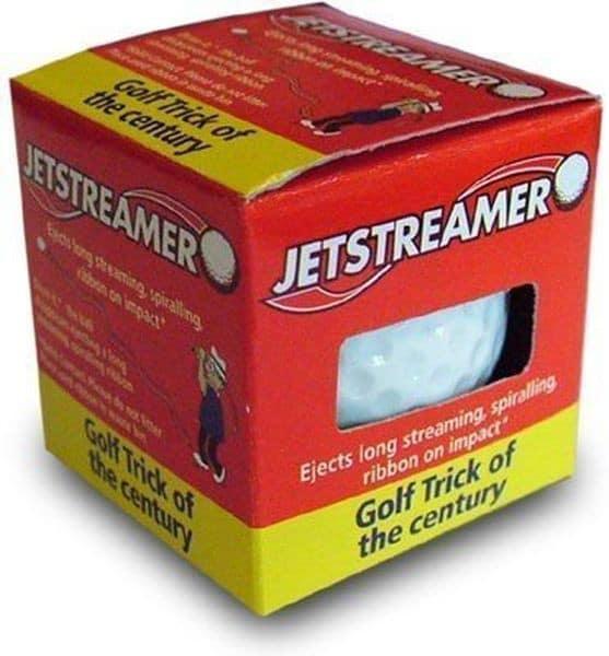 Jet Streamer Trick Golf Ball