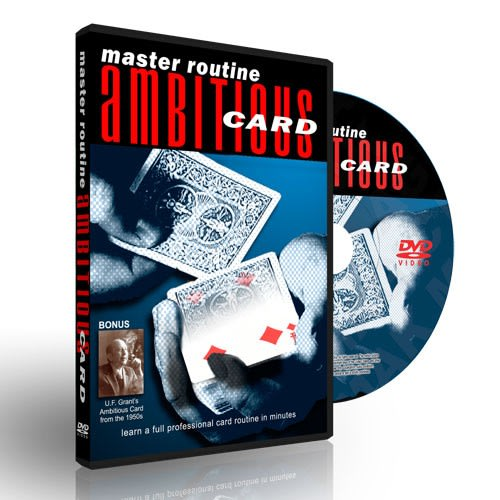 DVD-Ambitious Card