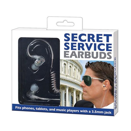 Secret Service Earbuds