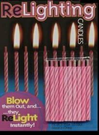 Magic Re-lighting Candles