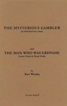 Book-The Mysterious Gambler- Loose Ends and Dead Ends