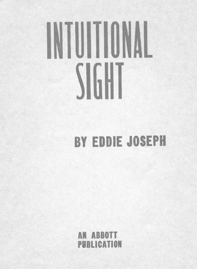 Intuitional Sight - Eddie Joseph - download