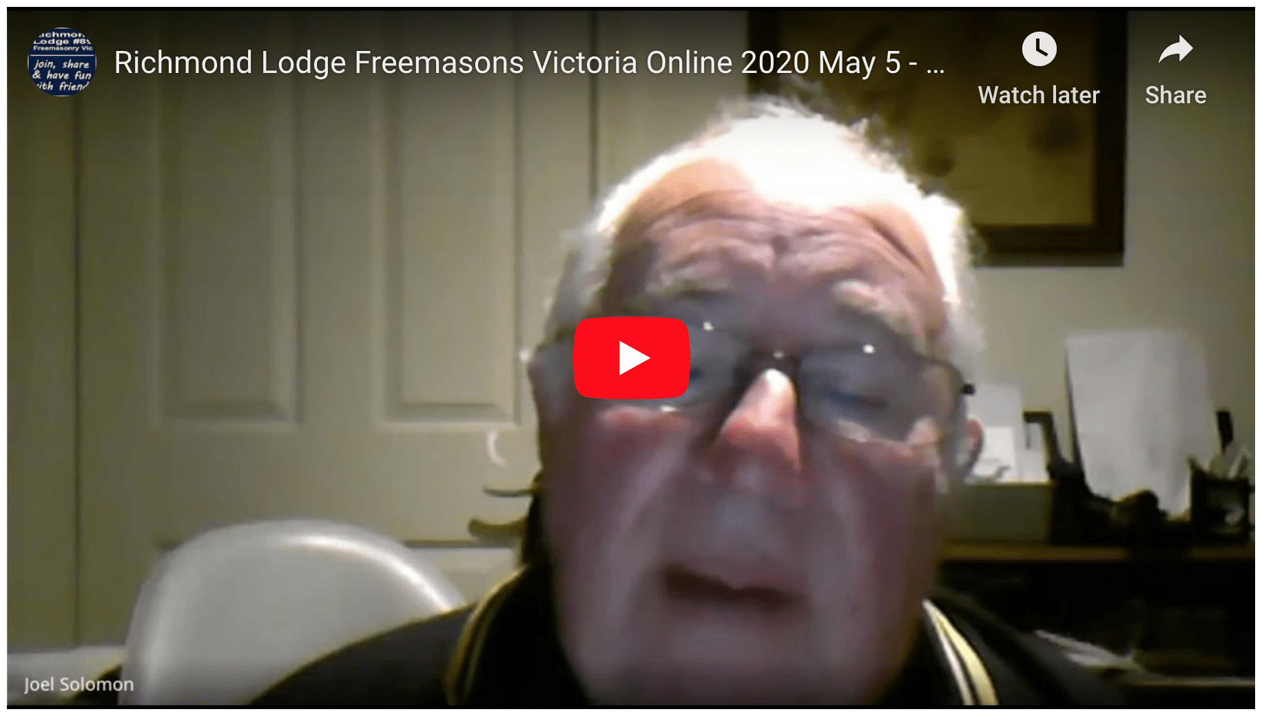 Richmond Lodge Freemasons Victoria Online 2020 May 5 - how to know a Freemason